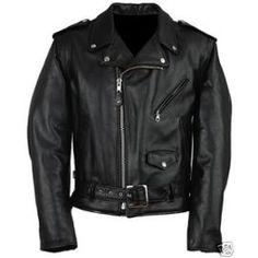 Blouson Veste Homme Perfecto En Cuir Moto Neuf Biker Harley