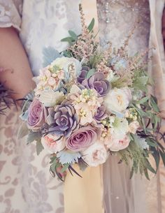 my magical wedding bouquet @table di nove #fairytalewedding
