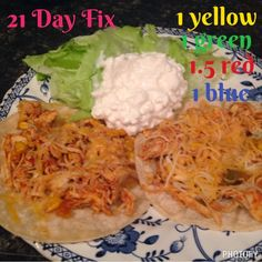 Mommy Business: Crock Pot Chicken Tacos - 21 Day Fix