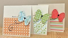 Stampin' Up ideas and supplies from Vicky at Crafting Clare's Paper Moments: 3 Minute Everyday Enchantment set