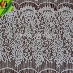 Eyelash Lace 13036 Width 45.5cm 2015 New Design with Cotton
