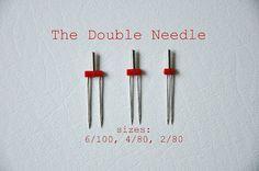 double needle tutorial