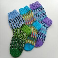 Kikiliakii neuloo - Vuodatus.net Knitting Socks, Art Tutorials, Handicraft, Knit Crochet, How To Make, Accessories, Storage, Projects, Crafts