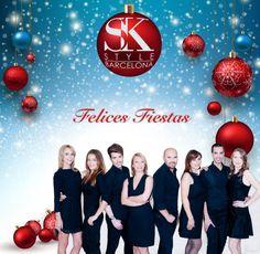"""Felices Fiestas! """"SK Style Barcelona"""" les desea unas fiestas llenas de felicidad, prosperidad y mucho éxito."""