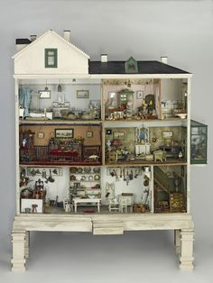 Devonshire Villas (Dolls' house, 1900) | V Search the Collections