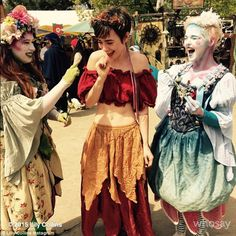 Playful: The British beauty captioned this snap: 'The nymphs have appeared #pleaserecruit...