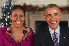 Watch President Obama and Michelle Obama's Last Christmas Address From the White House