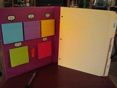 Homemade Home Life: Post-It Note Planner