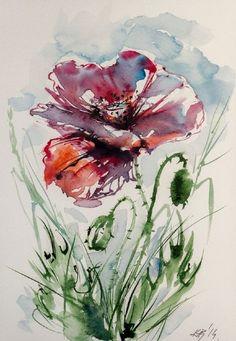水彩艺术家 Kovács Anna 水彩画作 - 堆糖 发现生活_收集美好_分享图片