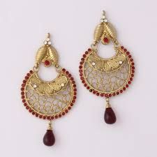 traditional indian jewellery earrings - Google Search