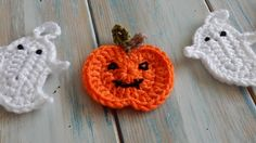 How to Crochet a Pumpkin for Bunting