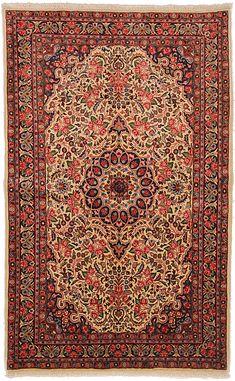 Bidjar DesignPersian Rug Ivory Rugs, Persian Rug, Colorful Rugs, Bohemian Rug, Wool, Design, Persian Carpet