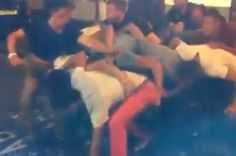 These Drunk Guys Failed So Hard At Getting Into A Club They Almost Won