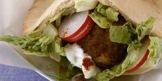 Turkey-Meatball Pitas - GoodHousekeeping.com