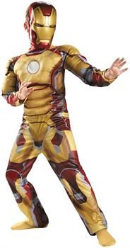 Iron Man Mark 42 Muscle Light-Up Includes: Jumpsuit with Muscle Torso & Arms, LED Arc Reactor, Batteries AG & Mask. Iron Man is a part of Marvel Universe and Avengers team. This is a Child Costume. Final Sale: No Exchanges or Refunds. Iron Man Halloween Costume, Halloween Costumes Kids Boys, Boy Costumes, Super Hero Costumes, Costume Ideas, Halloween 2014, Superhero Halloween, Children Costumes, Halloween Parties