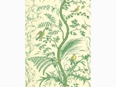 Bird And Thistle - Green