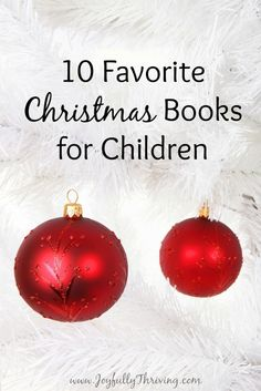10 Favorite Christmas Books for Children - If you're looking for some Christmas picture books for your child, check out this list by an early childhood teacher  mom.