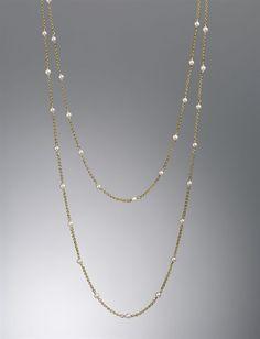 I love this necklace-David Yurman is the best!!    http://www.davidyurman.com/shoponline/product.aspx?itemid=Y05L3&folderid=/women/necklaceschains