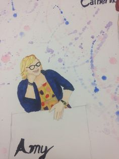 Amy Rendering from Elly Hunt's costume design of Theory of Relativity