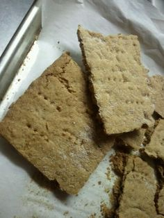 Gluten Free Graham Crackers with Pamela's Baking Mix