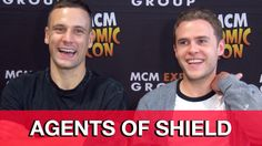 Agents of SHIELD Season 3 Fitz & Hunter Interview -
