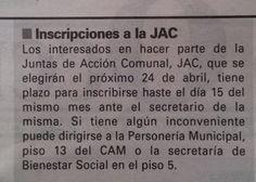 """Prensa - Diario Occidente  """"La Personería de Cali anunció que acompañará elecciones de dignatarios de las JAC"""" #CaliCo [Breves]"""