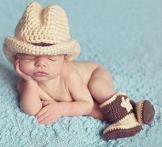 Handmade Crochet Baby Photography Props