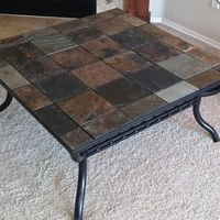 1000 Ideas About Slate Coffee Table On Pinterest Coffee Tables Cool Fire Pits And Fire Pit Grill