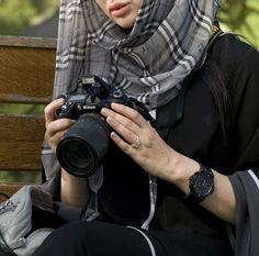 Hijabi photographer