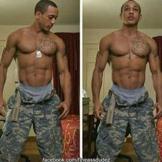 Gay black military men