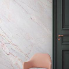 Murals-Wallpaper-Marble-5-Bronze-Textured-Print - Design Milk
