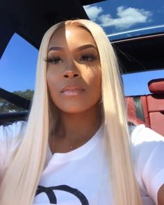 Blonde Wigs Lace Hair Brown Wigs Golden Blonde 360 Full Lace Wig Human Hair Blonde Wig With Blonde Highlights Frontal Hairstyles, Wig Hairstyles, Straight Hairstyles, Short Haircuts, Blonde Weave Hairstyles, Protective Hairstyles, Real Hair Wigs, Human Hair Wigs, Natural Hair Styles
