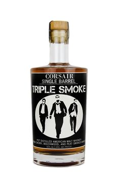 """Corsair Triple Smoke.Oh my lord, this stuff. """"Sophisticated"""" is an understatement. 