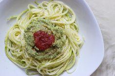 Spaghetti de courgettes & sauce crémeuse - Mango and Salt