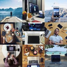 My best nine for 2015 and lot of memories. Especially missing the red latté from Jakarta @wattcoffee and their super friendly crew. Two pics are from our trip with @tomas and it seems like I need to start taking pictures of my workspace again. Obviously with my white Apple headphones which Zuzi @ravasky_crafts and @ruthpenfold love so much obviously . Hopefully 2016 will be full of opportunities to take more of shots for my instagram! Cheers . . #coffeeshop #workspace #czechboy #ontheroad…