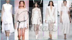 1f643e5398e5 Haute Couture Sposa Napoli. Tendenze moda estate 2014. Abito bianco non  solo per la sposa.