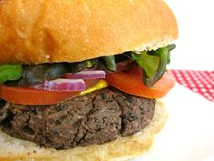 """Black Bean Burgers These were good & they froze well.  They don't need to be quite as large as the recipe calls for - they would be better a bit thinner.  Otherwise your """"burger"""" is too beany and not burgery enough. (if that makes any sense - haha)"""