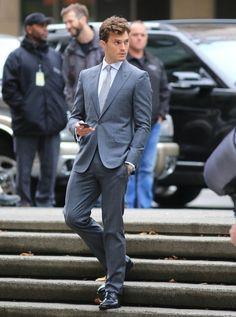 Pics: Jamie Dornan reshoots scenes for 'Fifty Shades of Grey'