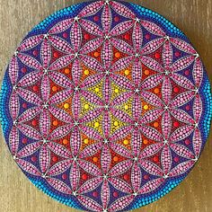 Dot Art Painting, Mandala Painting, Stone Painting, Mandala Dots, Mandala Design, Fabric Markers, Art Lesson Plans, Flower Of Life, Geometric Art