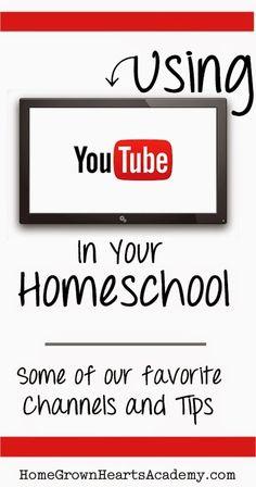 Using YouTube In Your Homeschool #homeschool #education #technology