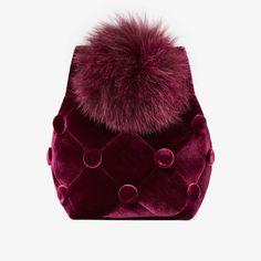 stockholm based design brand Laimushka Velvet Bucket Bag with Pom Pom Stockholm, Fashion Bags, Womens Fashion, Fashion Group, Ethical Fashion, Sustainable Fashion, Bucket Bag, Branding Design, Cool Designs