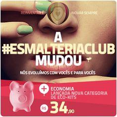 Bem-vindo a EsmalteriaClub (www.esmalteriaclub.com.br), o primeiro clube de assinaturas de esmaltes do Brasil. Receba esmaltes diferenciados de marcas nacionais e internacionais sem sair de casa.