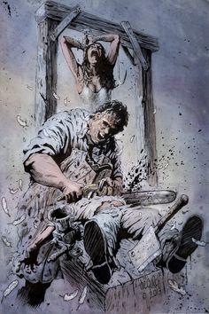 Texas Chainsaw Massacre by TheGurch on deviantART