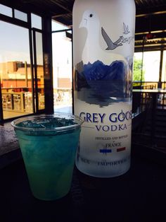 Ryan Kropp ‏- $4 Electric Goose cocktails and $1 domestics on the patio Quintons No1 11-4 #beautifuldayforadrink #openchampionship