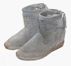 Yellow Cab new york boots zalando stiefel orange rot braun herbst winter 42 41 40 38