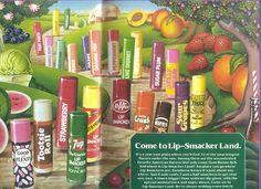 vintage Lip Smackers