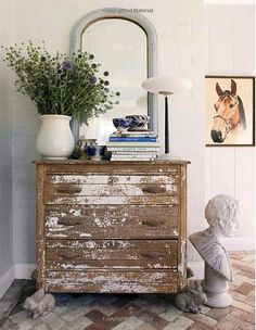 Amazon.com: Undecorate  Something about the flowers, vase, and dresser make me giddy with delight!