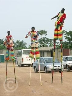Ghana Cape Coast Tall Stilts2