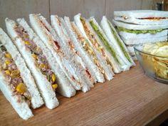 Comparte Recetas - 4 rellenos para sandwich