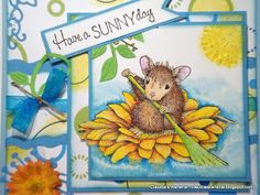 Claudia's Karteria: Have a Sunny day on Flowersboat